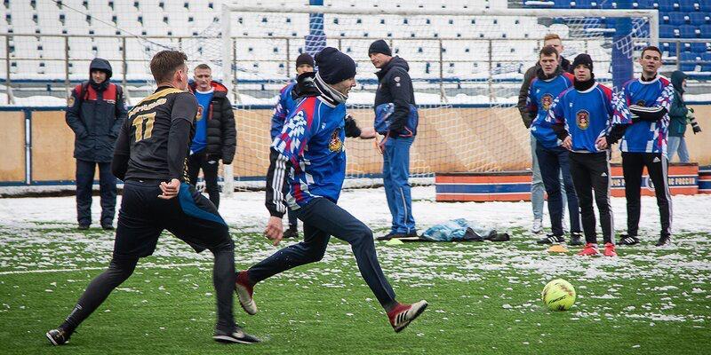 Сотрудники Департамента ГОЧСиПБ стали призерами соревнований по мини-футболу среди пожарных и спасателей столицы