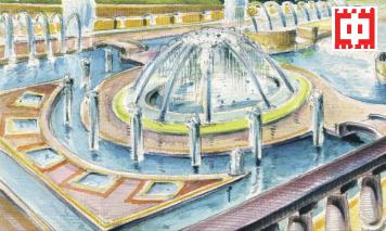 В парке «Покровское-Стрешнево» в 1930-х собирались соорудить фонтанный партер с каскадами и водопадами