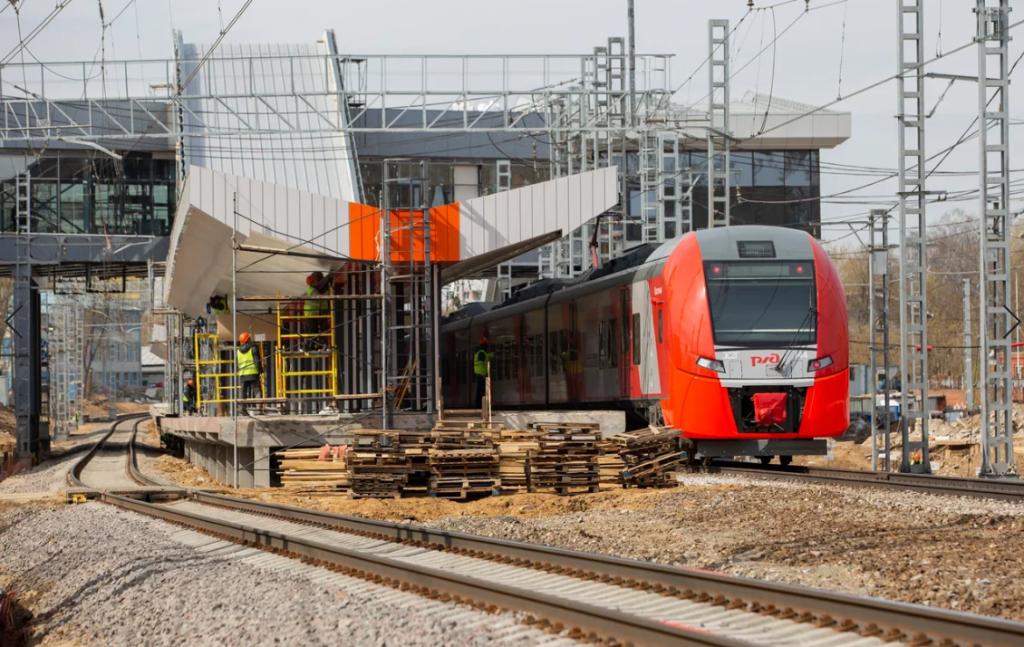 Транспортный хаб придет на смену станции «Покровское-Стрешнево»