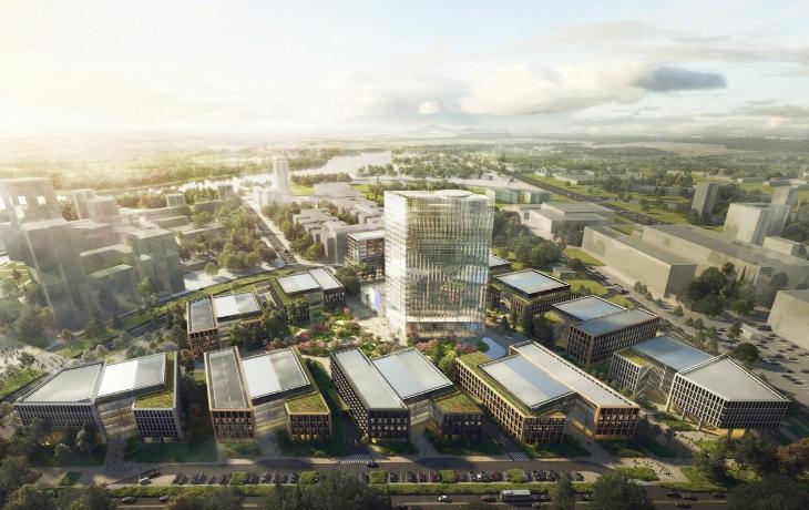 Бизнес-парк «Ростех Сити» открылся на Волоколамском шоссе